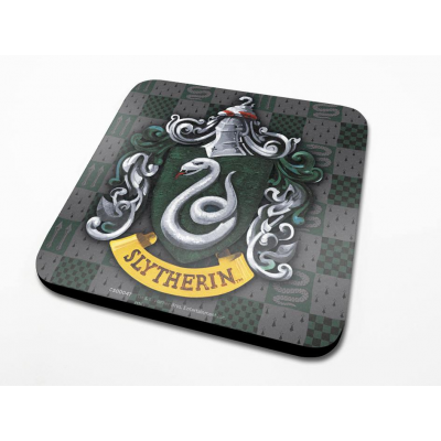 Harry Potter Coaster Slytherin Crest 6-Pack