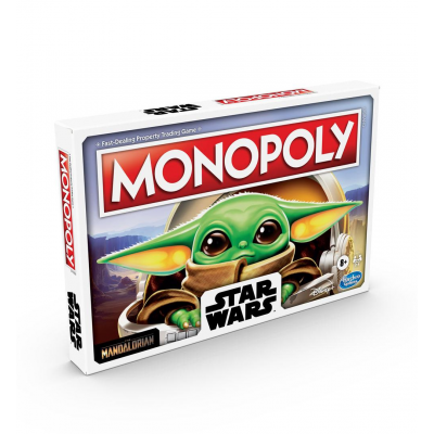 Star Wars The Mandalorian Board Game Monopoly The Child...