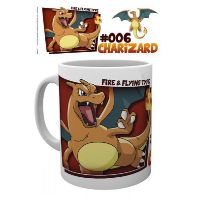 Pokemon Mug Charizard Type