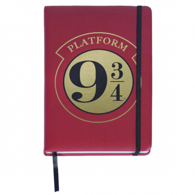 Harry Potter Premium Notizbuch A5 Platform 9 3/4