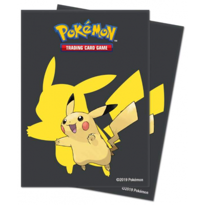 UP - Deck Protector Sleeves - Pikachu 2019 Protector (65...