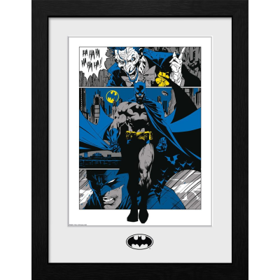 Batman Collector Print Framed Poster Panels 41 x 30 cm