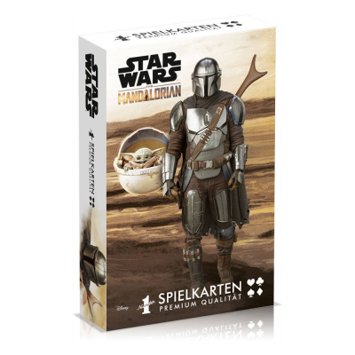 Star Wars The Mandalorian Number 1 Spielkarten (DE)