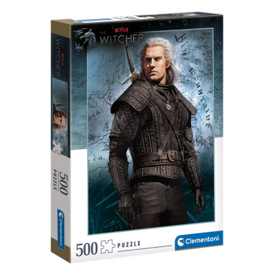 The Witcher Puzzle Geralt of Rivia (500 Teile)