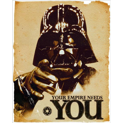 Poster - Your Empire Needs You! 61 x 91,5 cm - STAR WARS