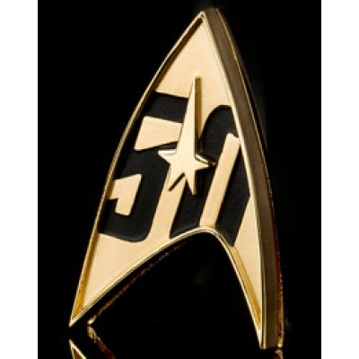 Star Trek Replica 1/1 50th Anniversary Magnetic Starfleet...