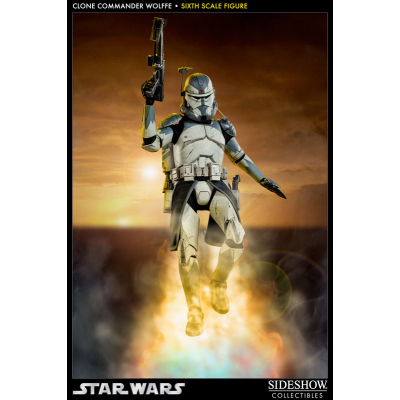 Action Figure - Clone Commander Wolffe The Clone Wars 1/6...
