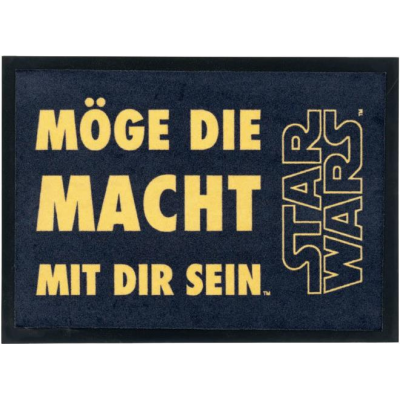 Doormat - May the Force be with you (german) 50 x 70 cm