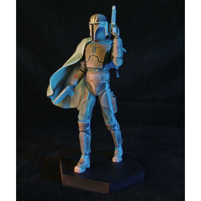 Statue - Pre Vizsla Animated Maquette The Clone Wars 23 cm